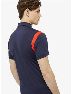 Dolph TX Jersey Slim Fit Polo JL Navy