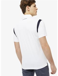 Dolph TX Jersey Slim Fit Polo White