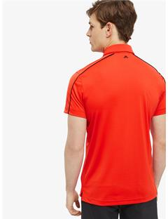 Glenn TX Jersey Reg Fit Polo Racing Red