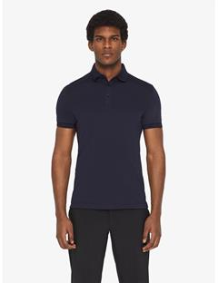 Mens Dennis TX Jersey+ Slim Fit Polo JL Navy