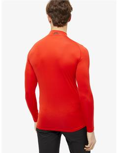 Mens Aello Soft Compression Layer Racing Red