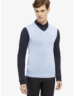 Lynfa True Merino Sweater Vest Gentle blue