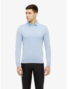 Newman V-neck Tour Merino Sweater Gentle blue