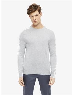 Nolans Pima Cotton Sweater Grey Melange