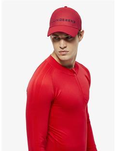 Ace Mesh Seamless Cap Racing Red