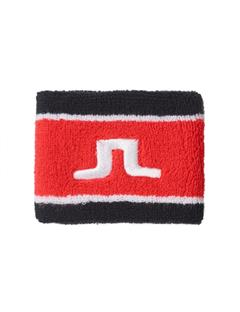 Mens Cotton Bridge Sweatband Racing Red