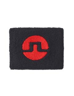 Mens Cotton Inverted Bridge Sweatband Black