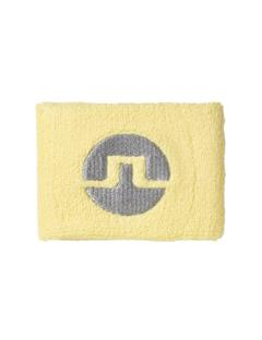 Mens Cotton Inverted Bridge Sweatband Still yellow