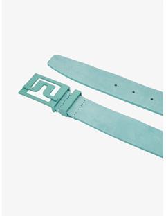 Mens Slater 40 Brushed Leather Belt Gentle blue