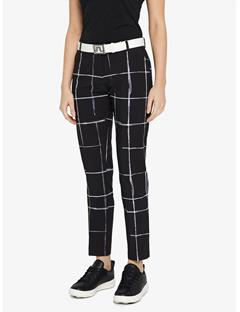 Womens Freja Micro Stretch Pants Window Pane