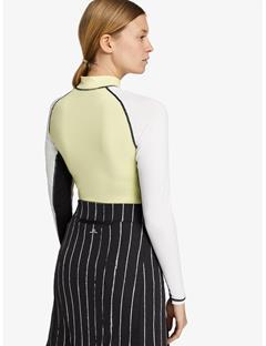 Womens Amelie TX Jersey Long Skirt Pinstripe