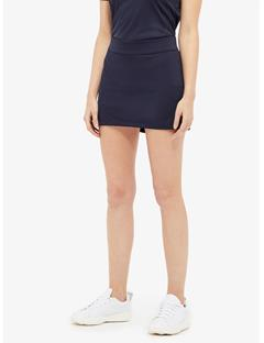 Womens Amelie TX Jersey Mini Skirt JL Navy