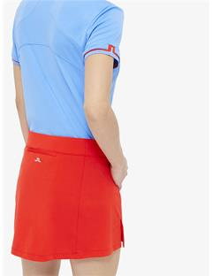 Womens Amelie TX Jersey Mini Skirt Racing Red