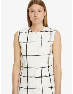 Womens Cloe Schoeller 3xDry Dress Inverted window pane