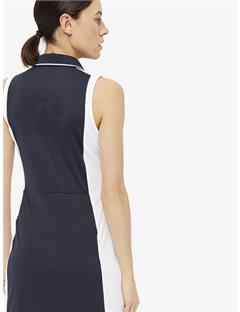 Womens Louze TX Jersey Dress JL Navy