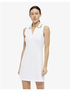 Womens Louze TX Jersey Dress White