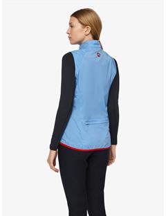 Womens Sally Stretch WindPro Vest Silent blue