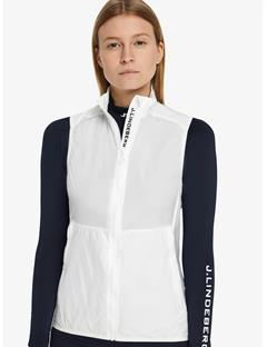 Womens Sally Stretch WindPro Vest White