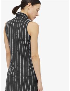 Womens Dena TX Jersey Polo Pinstripe