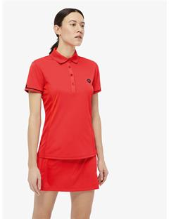 Womens Lara TX Jersey Polo Racing Red