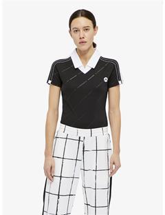 Sanae TX Jersey Bodysuit Black emb. print