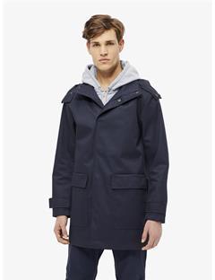 Nathan Bonded Weave Coat JL Navy