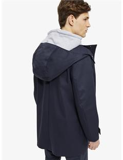 Mens Nathan Bonded Weave Coat JL Navy