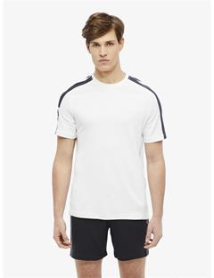Mens Riley Double Mesh T-shirt White