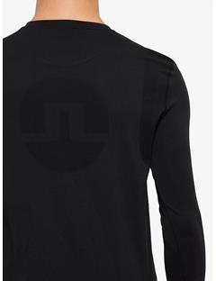 Mens Seamless Merika Lightweight T-shirt Black