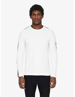 Mens Camron Double Mesh T-shirt White