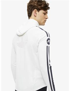 Mens Colin Double Mesh Hoodie White