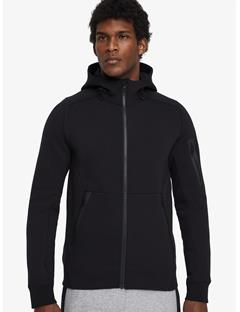 Athletic Tech Sweat Hoodie Black