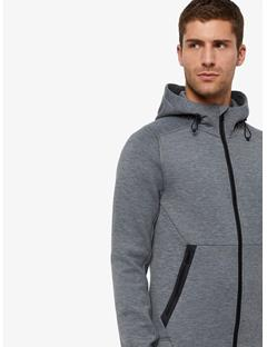 Athletic Tech Sweat Hoodie Granite melange