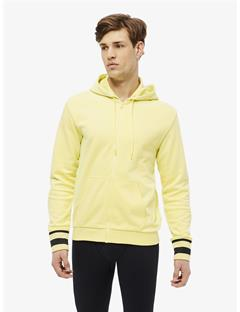 Mens Cyrus French Terry Zip-Up Hoodie Still yellow