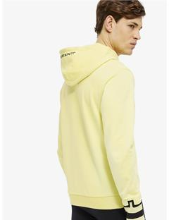 Cyrus French Terry Zip-Up Hoodie Still yellow