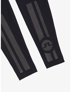 Mens Speed Bike Leg Sleeve Black
