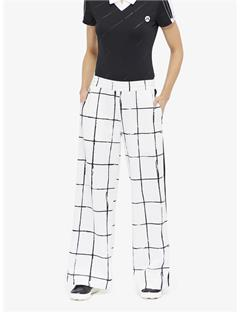 Noely Tech Track Pants Inverted window pane