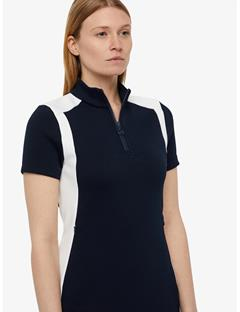 Womens Clea Tech Track Dress JL Navy