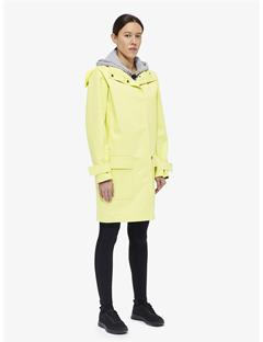 Womens Elle Bonded Weave Coat Still yellow