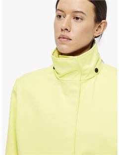 Elle Bonded Weave Coat Still yellow