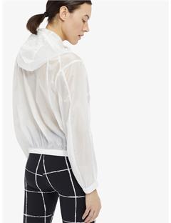 Celia Transparent Jacket White