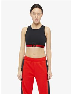 Alexis Compression Sports Bra Top Black