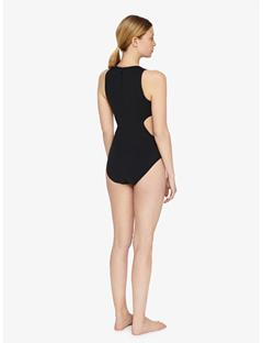 Emie Compression Bodysuit Black