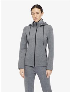 Womens Louna Tech Sweat Jacket Granite melange
