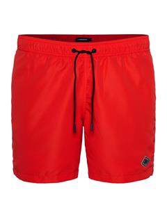 Mens Banks Solid Swim Racing Red