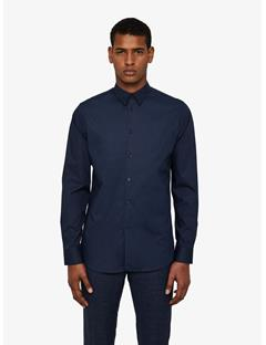 Mens Daniel Clean Poplin Shirt JL Navy