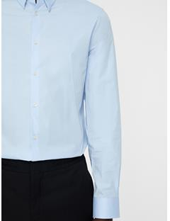 Mens Daniel Clean Poplin Shirt Lt Blue