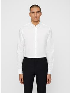 Mens Daniel Clean Poplin Shirt White