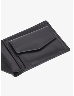 Mens Leather Wallet Black
