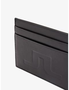 Mens Leather Cardholder Black